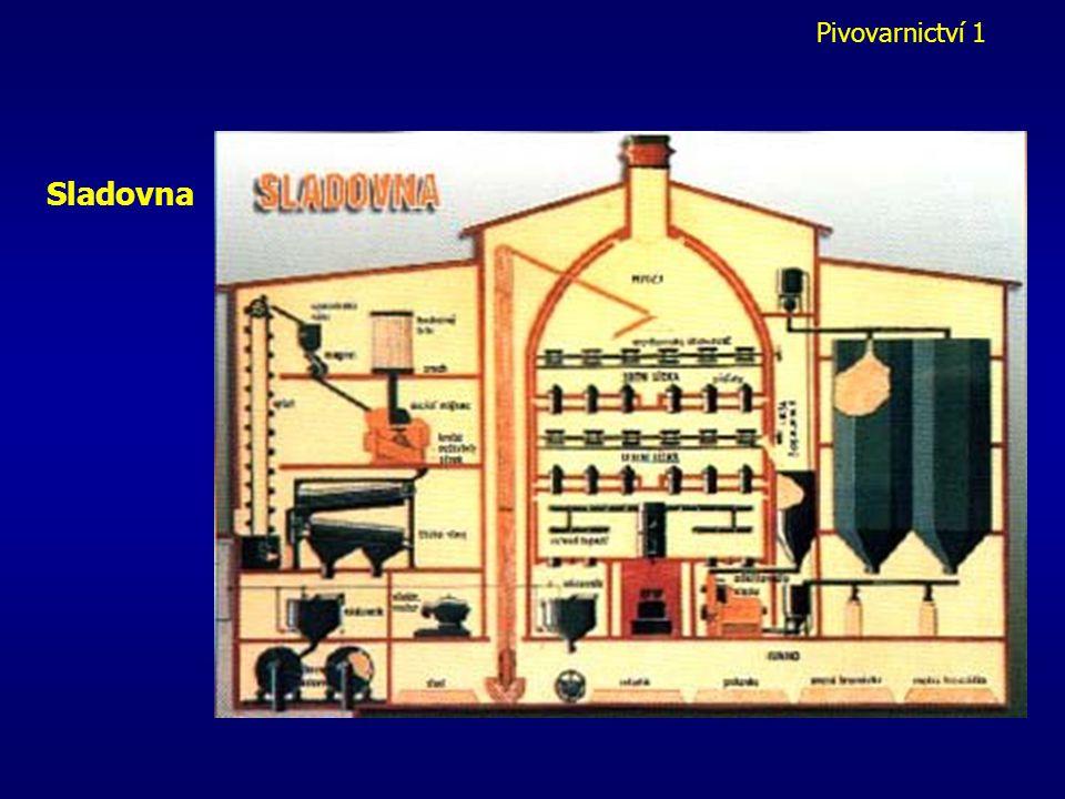 Pivovarnictví 1 Sladovna