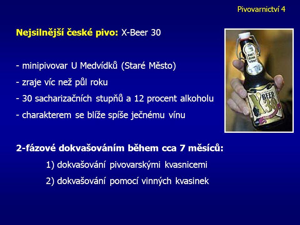 Nejsilnější české pivo: X-Beer 30