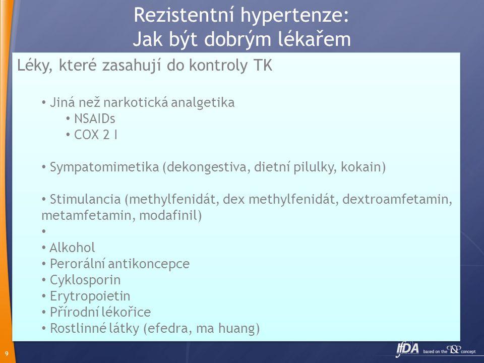 Rezistentní hypertenze: Jak být dobrým lékařem
