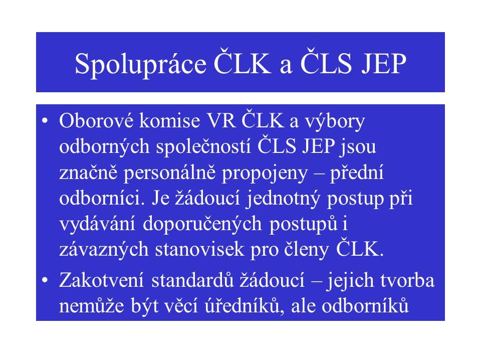 Spolupráce ČLK a ČLS JEP