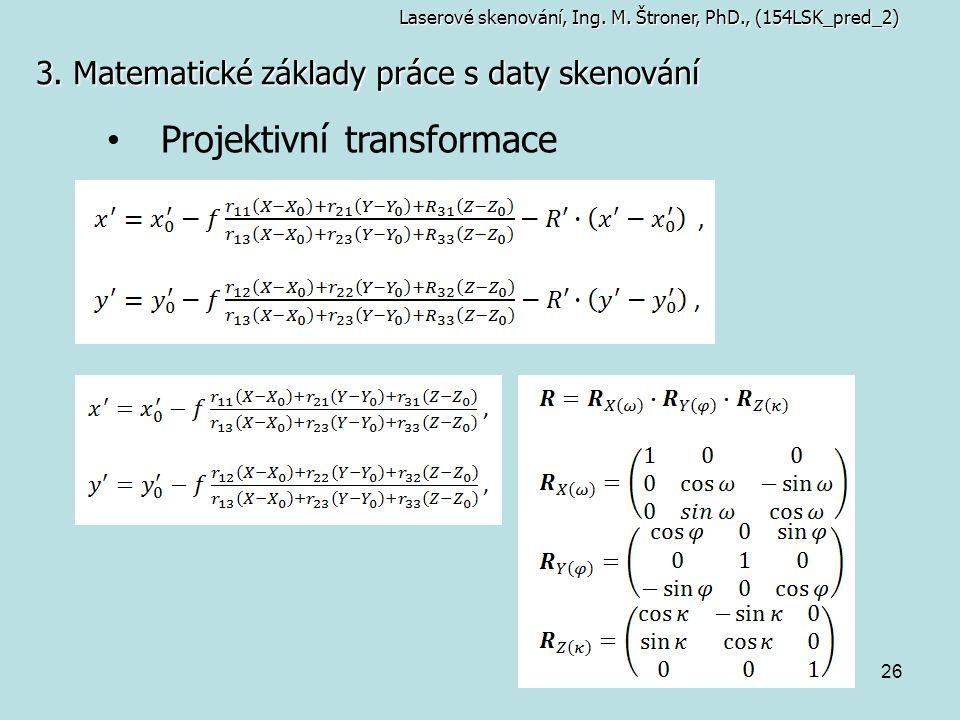 Projektivní transformace