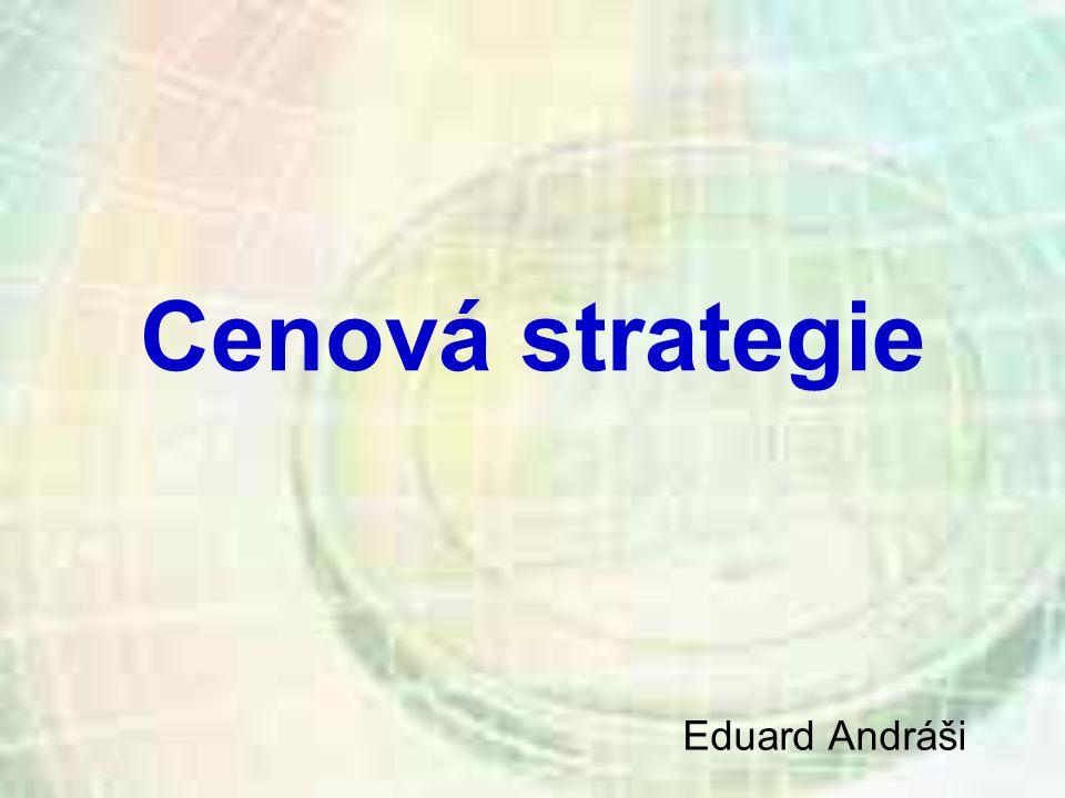 Cenová strategie Eduard Andráši