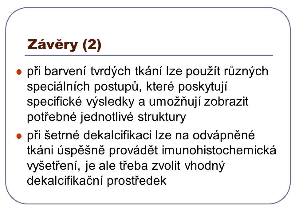 Závěry (2)