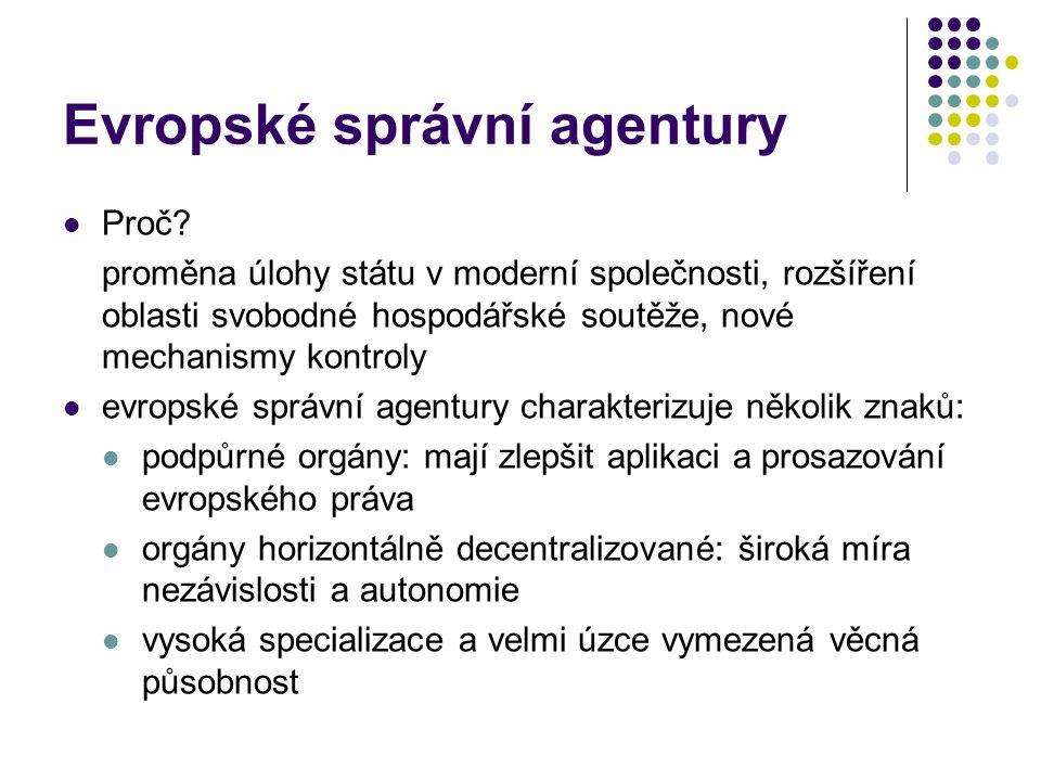 Evropské správní agentury
