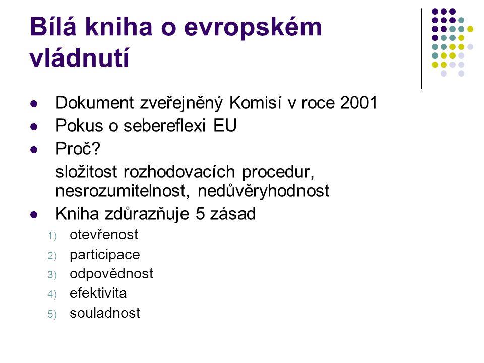 Bílá kniha o evropském vládnutí