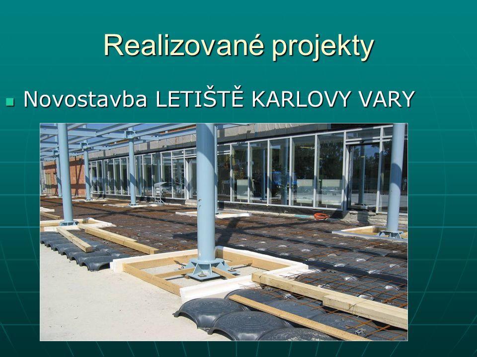 Realizované projekty Novostavba LETIŠTĚ KARLOVY VARY