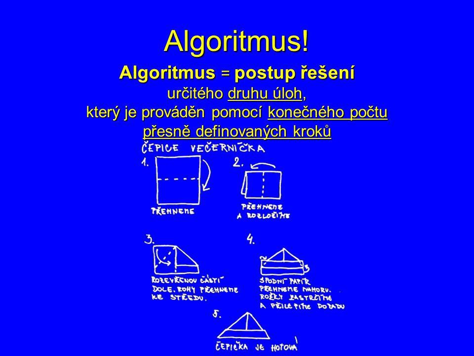 Algoritmus.