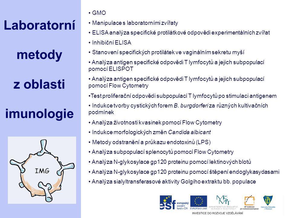 Laboratorní metody z oblasti imunologie