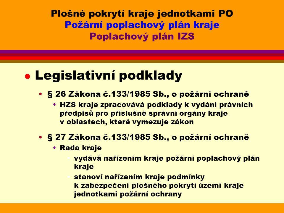 Legislativní podklady
