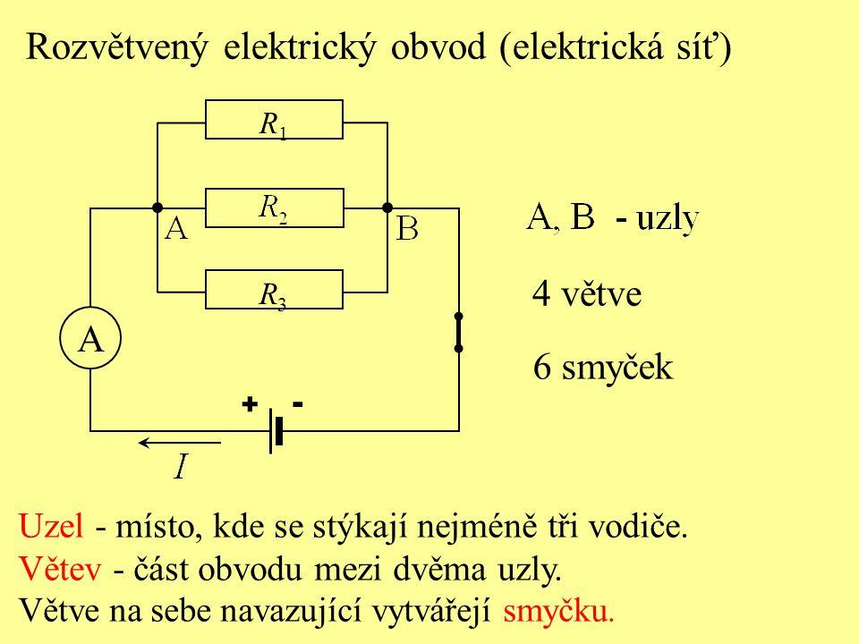Rozvětvený elektrický obvod (elektrická síť)