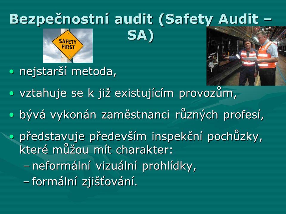 Bezpečnostní audit (Safety Audit – SA)