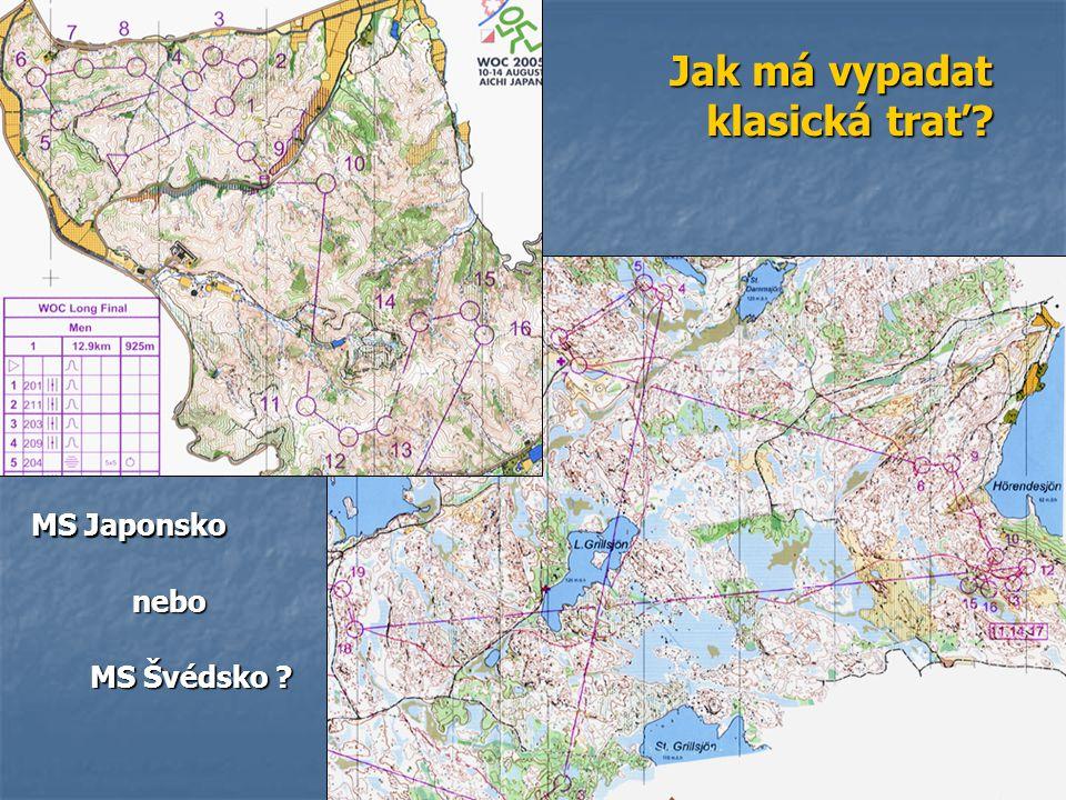 Jak má vypadat klasická trať MS Japonsko nebo MS Švédsko
