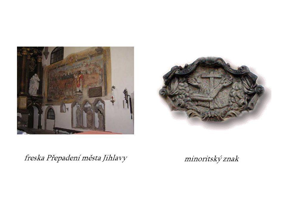 freska Přepadení města Jihlavy
