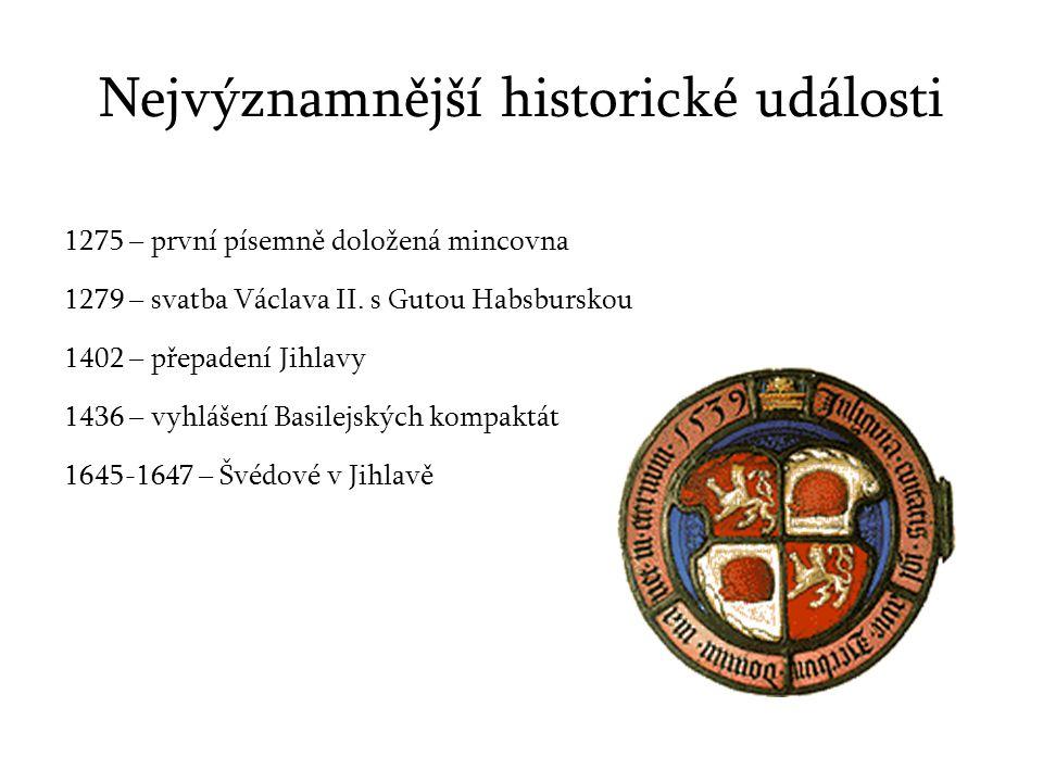 Nejvýznamnější historické události