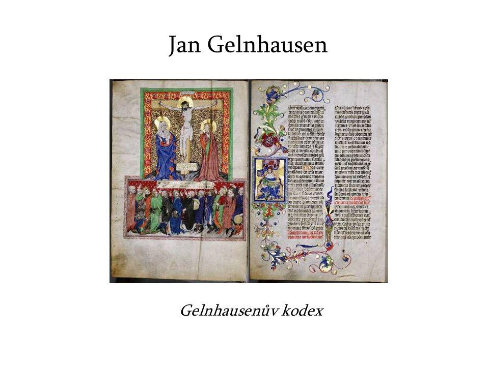 Jan Gelnhausen Gelnhausenův kodex