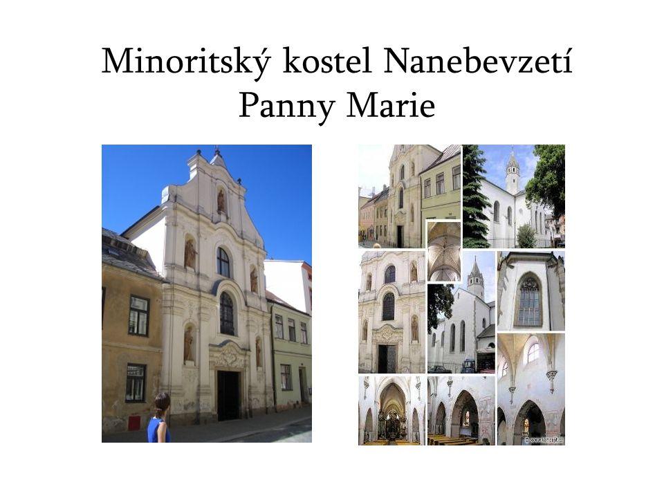 Minoritský kostel Nanebevzetí Panny Marie