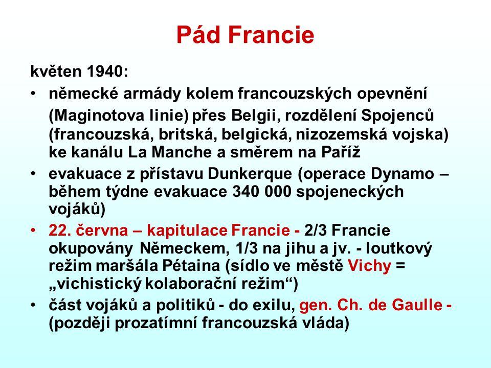 Pád Francie květen 1940: