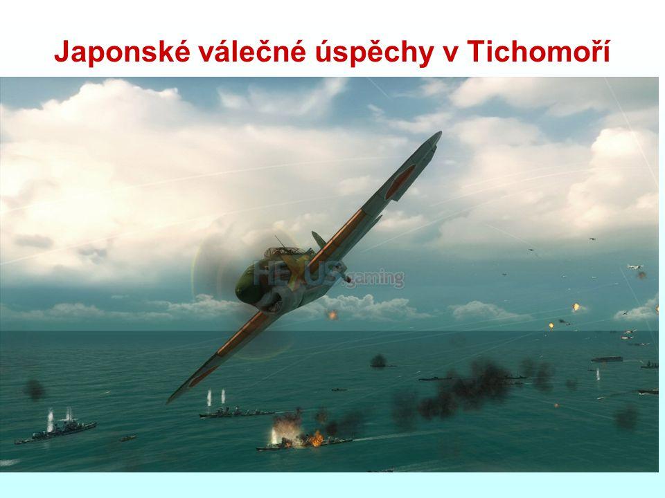 Japonské válečné úspěchy v Tichomoří