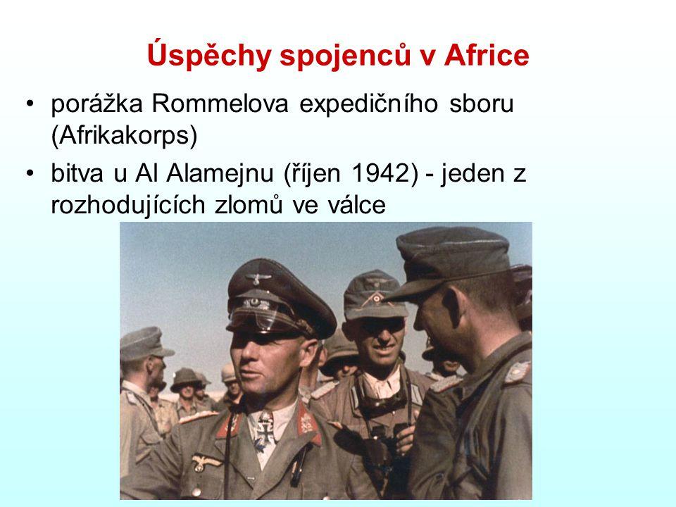 Úspěchy spojenců v Africe