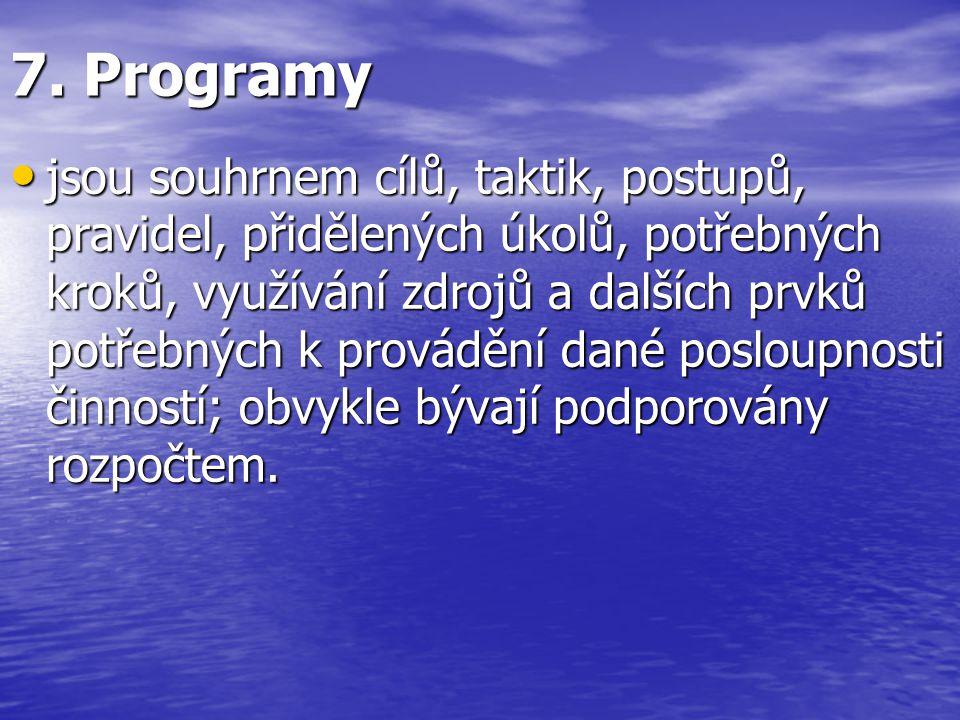 7. Programy