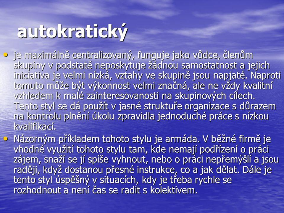 autokratický