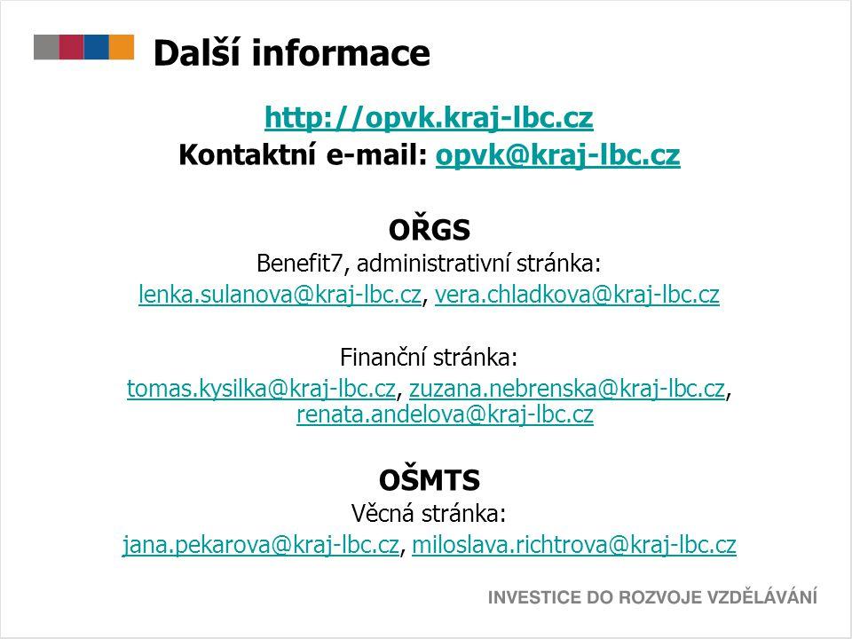 Kontaktní e-mail: opvk@kraj-lbc.cz