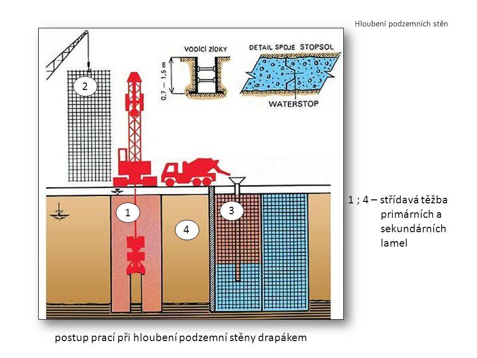 Hloubení podzemních stěn