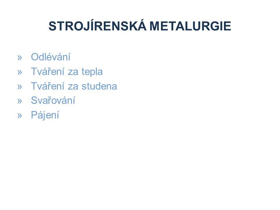 Strojírenská metalurgie