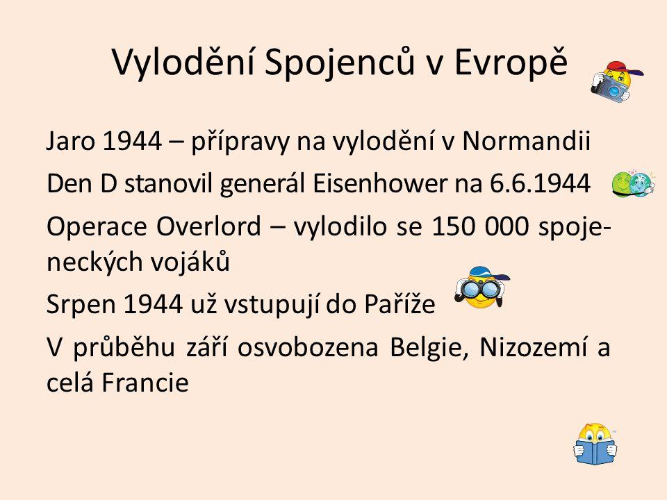 Vylodění Spojenců v Evropě