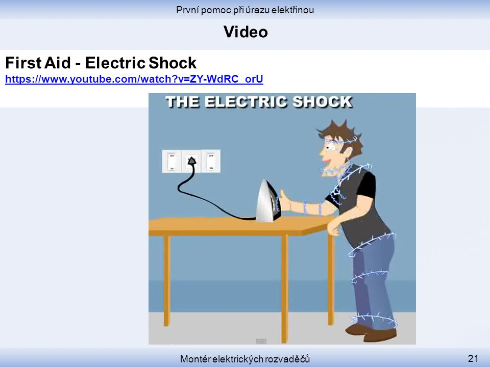 First Aid - Electric Shock