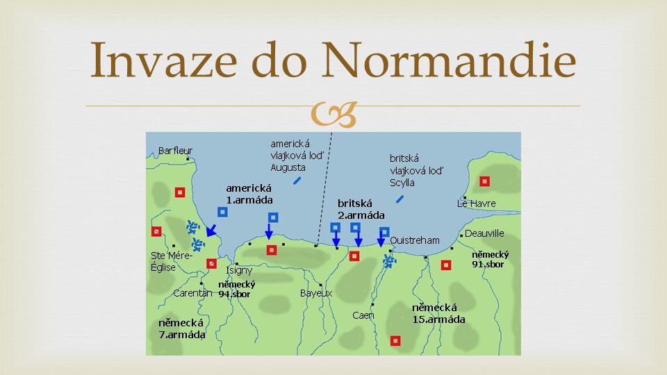 Invaze do Normandie