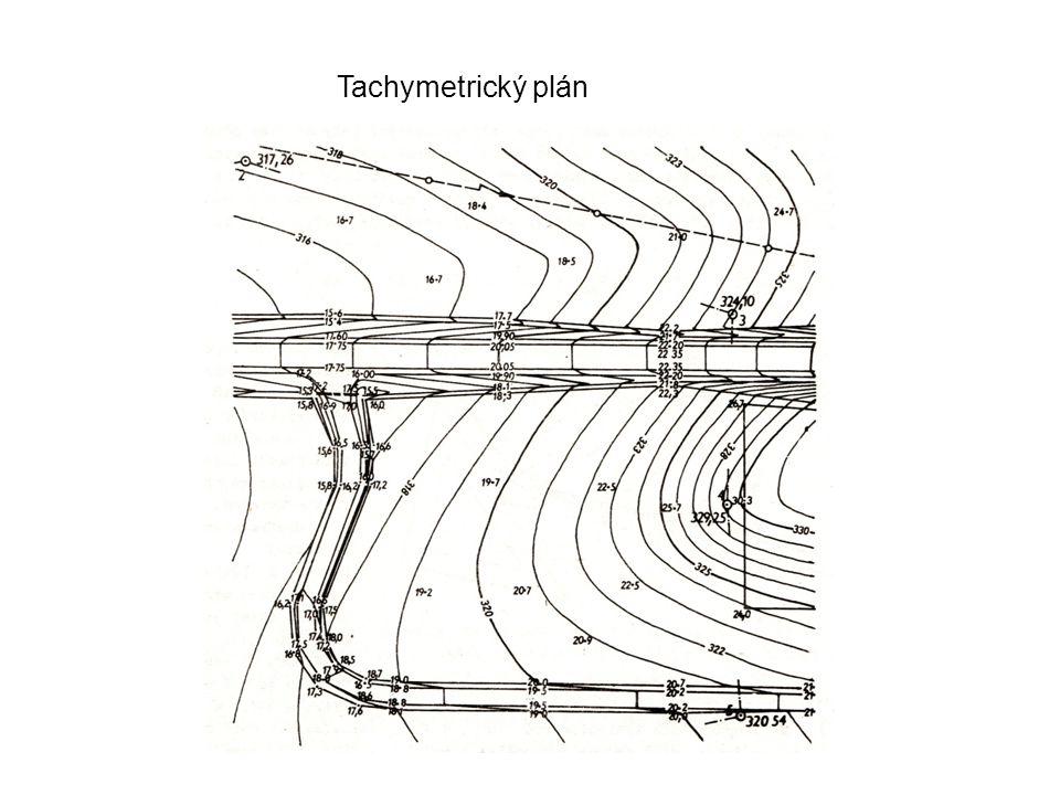 Tachymetrický plán