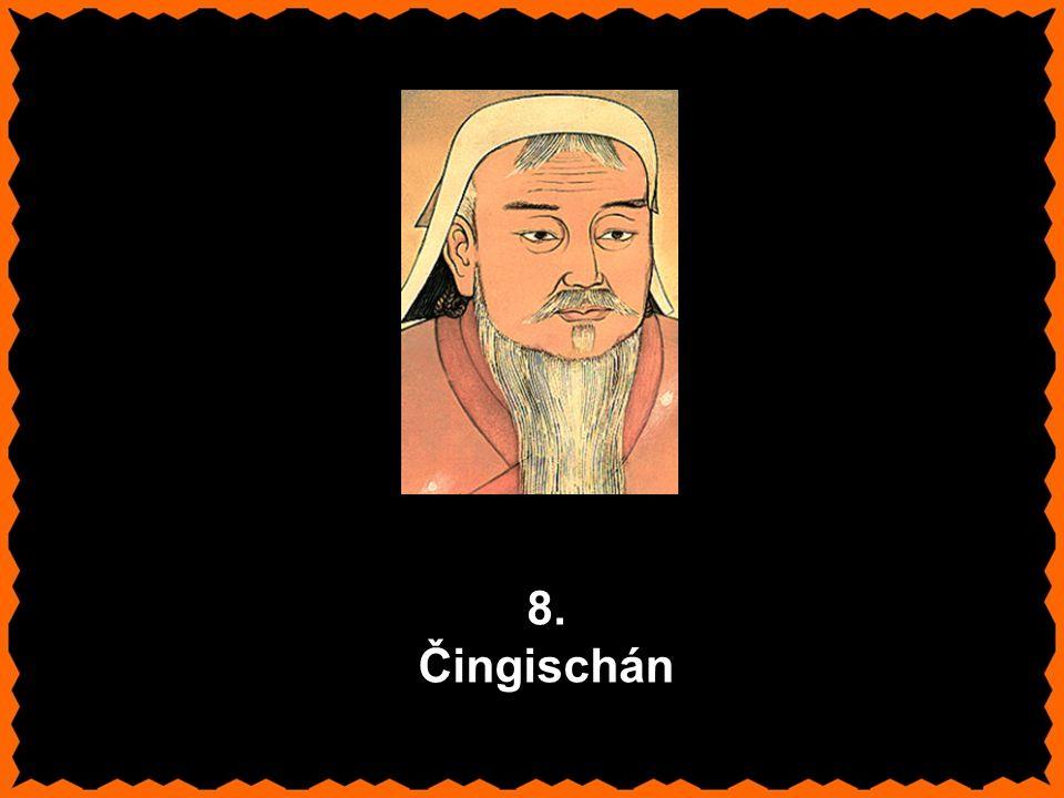 8. Čingischán