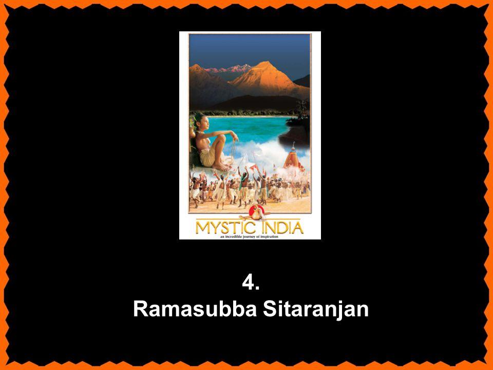 4. Ramasubba Sitaranjan