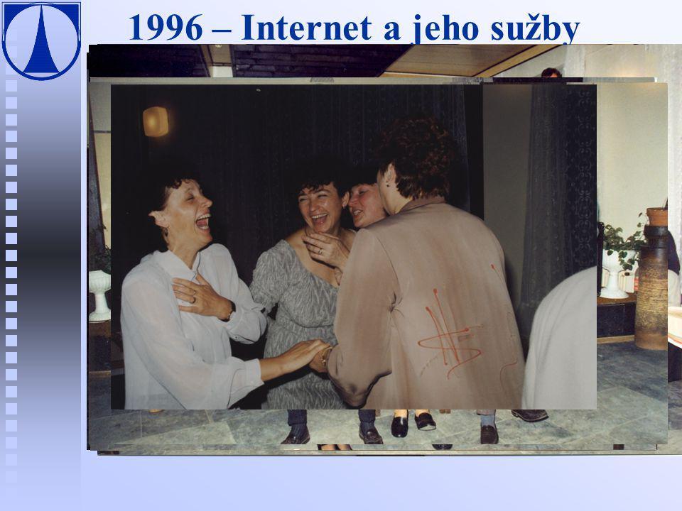 1996 – Internet a jeho sužby