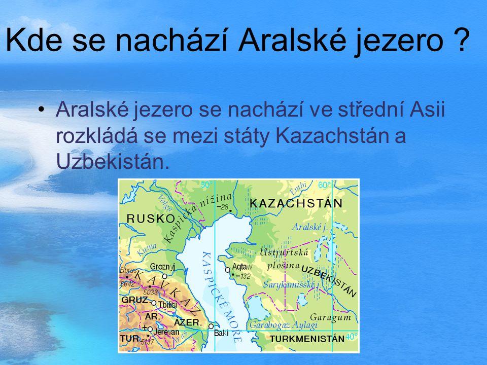 Kde se nachází Aralské jezero