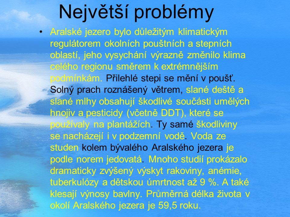 Největší problémy