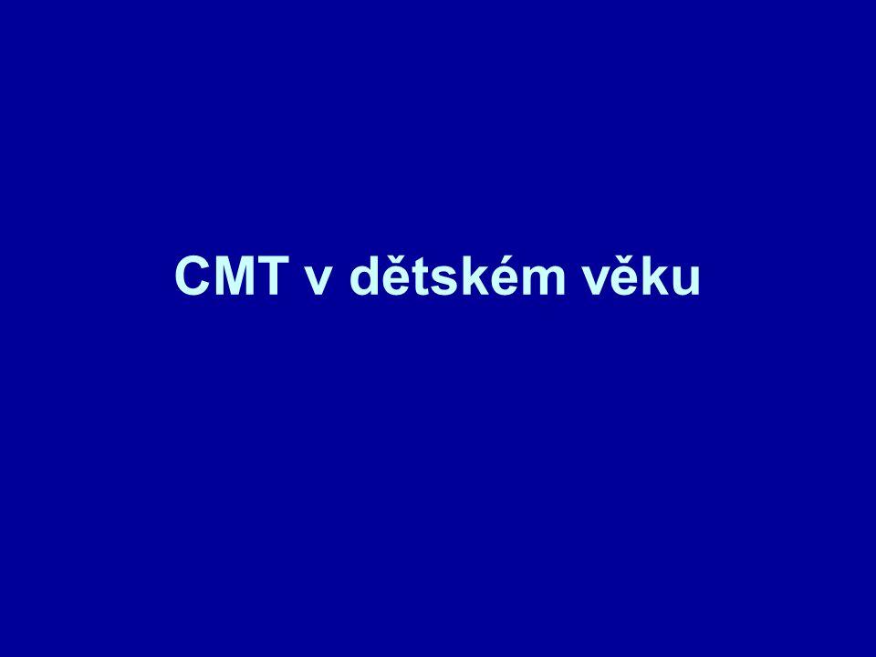 CMT v dětském věku