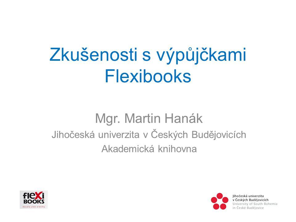 Zkušenosti s výpůjčkami Flexibooks