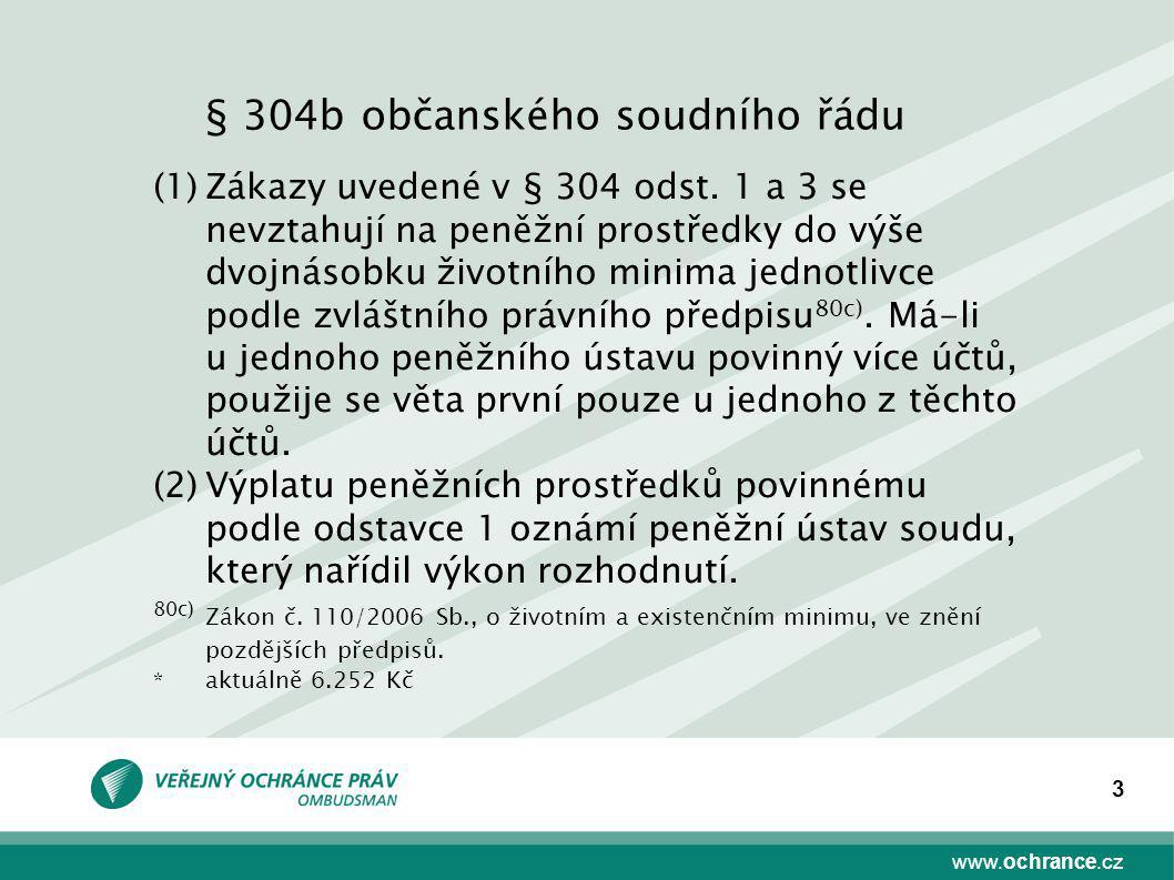 § 304b občanského soudního řádu