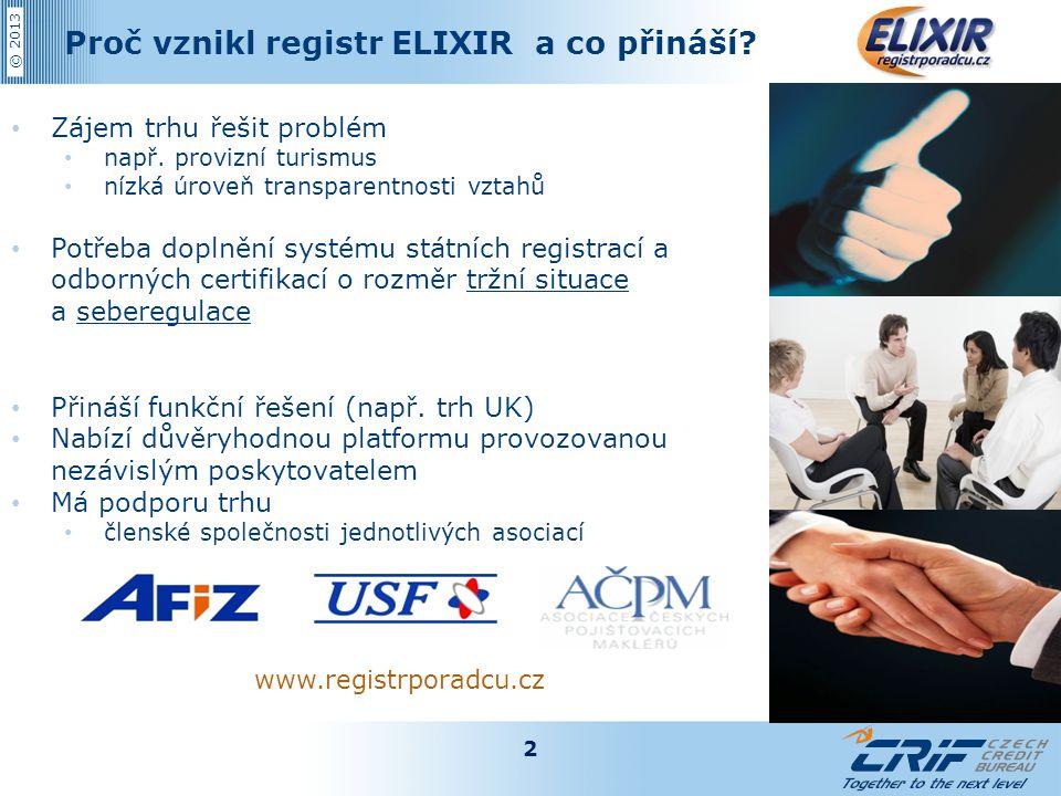 Proč vznikl registr ELIXIR a co přináší