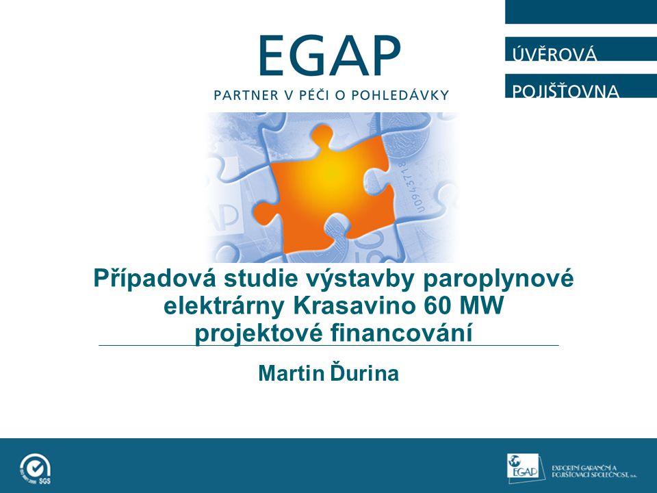 Případová studie výstavby paroplynové elektrárny Krasavino 60 MW projektové financování