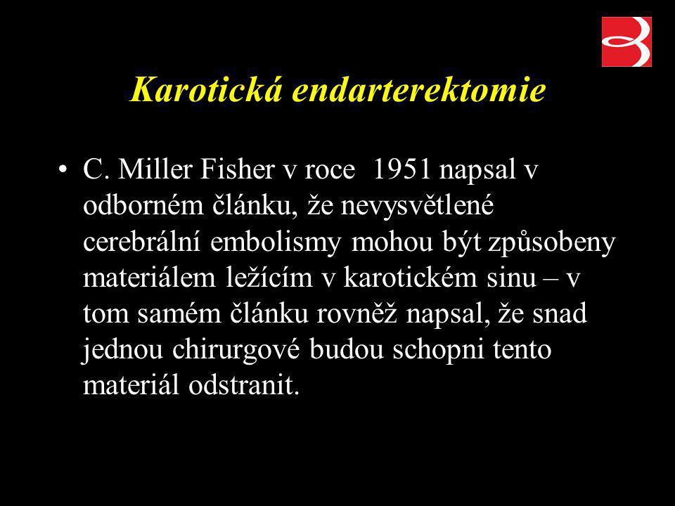 Karotická endarterektomie