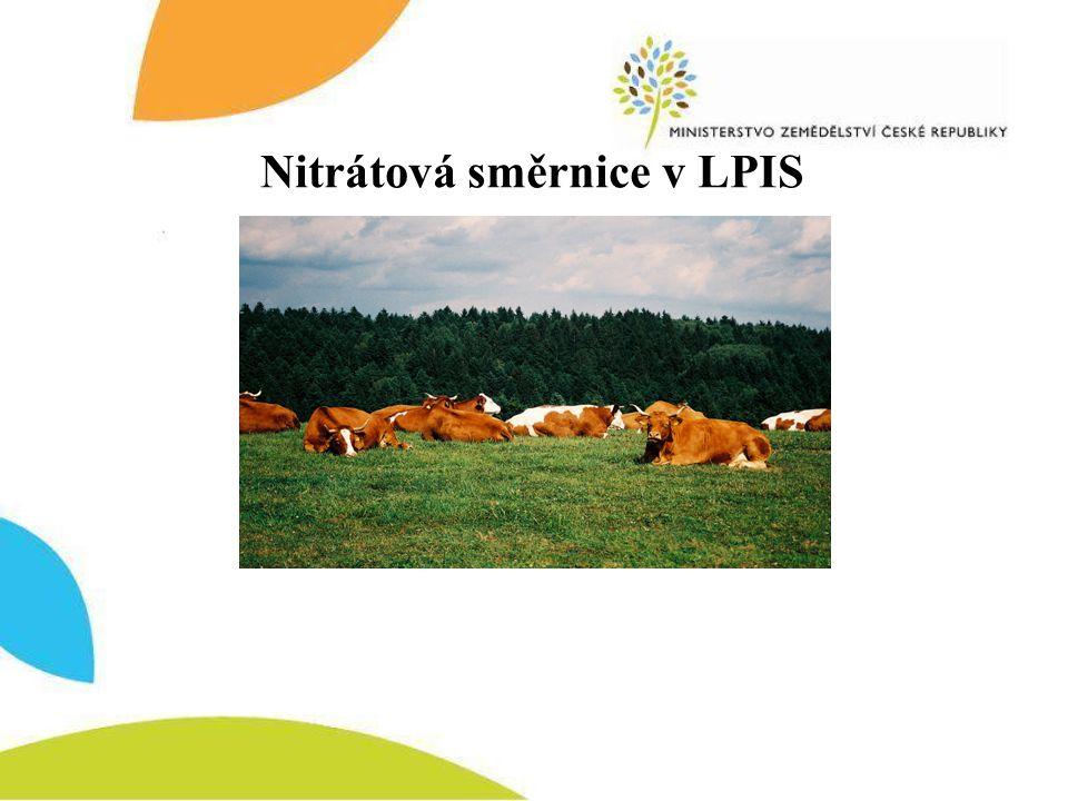 Nitrátová směrnice v LPIS