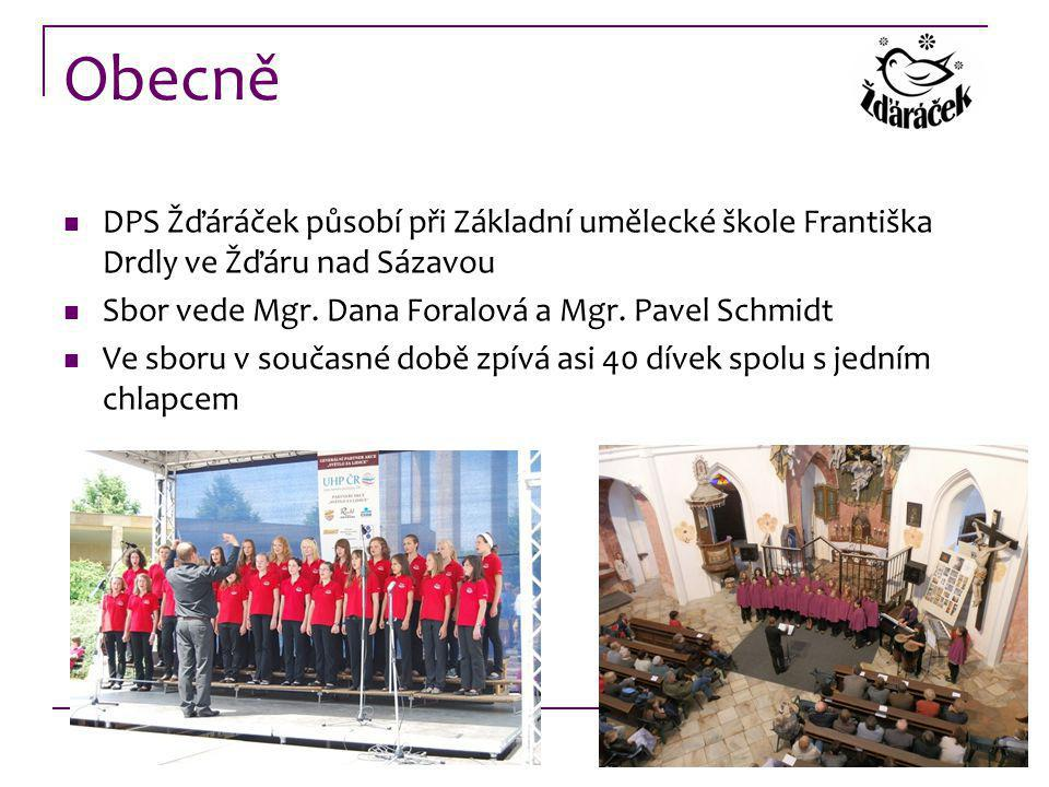 Obecně DPS Žďáráček působí při Základní umělecké škole Františka Drdly ve Žďáru nad Sázavou. Sbor vede Mgr. Dana Foralová a Mgr. Pavel Schmidt.