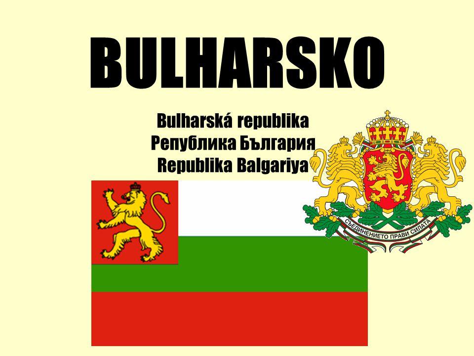 Bulharská republika Република България Republika Balgariya