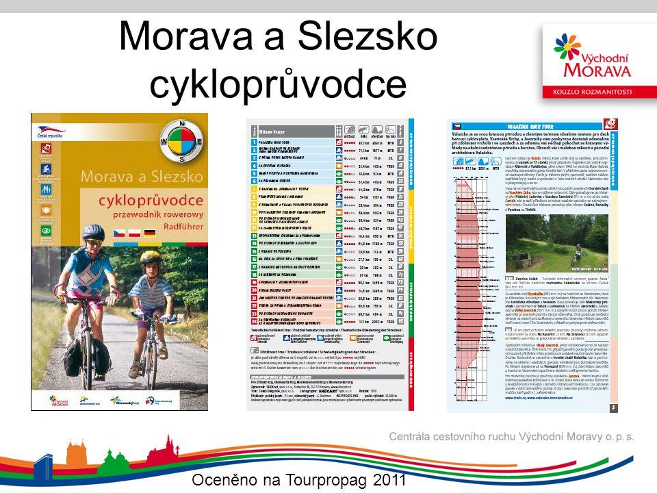 Morava a Slezsko cykloprůvodce