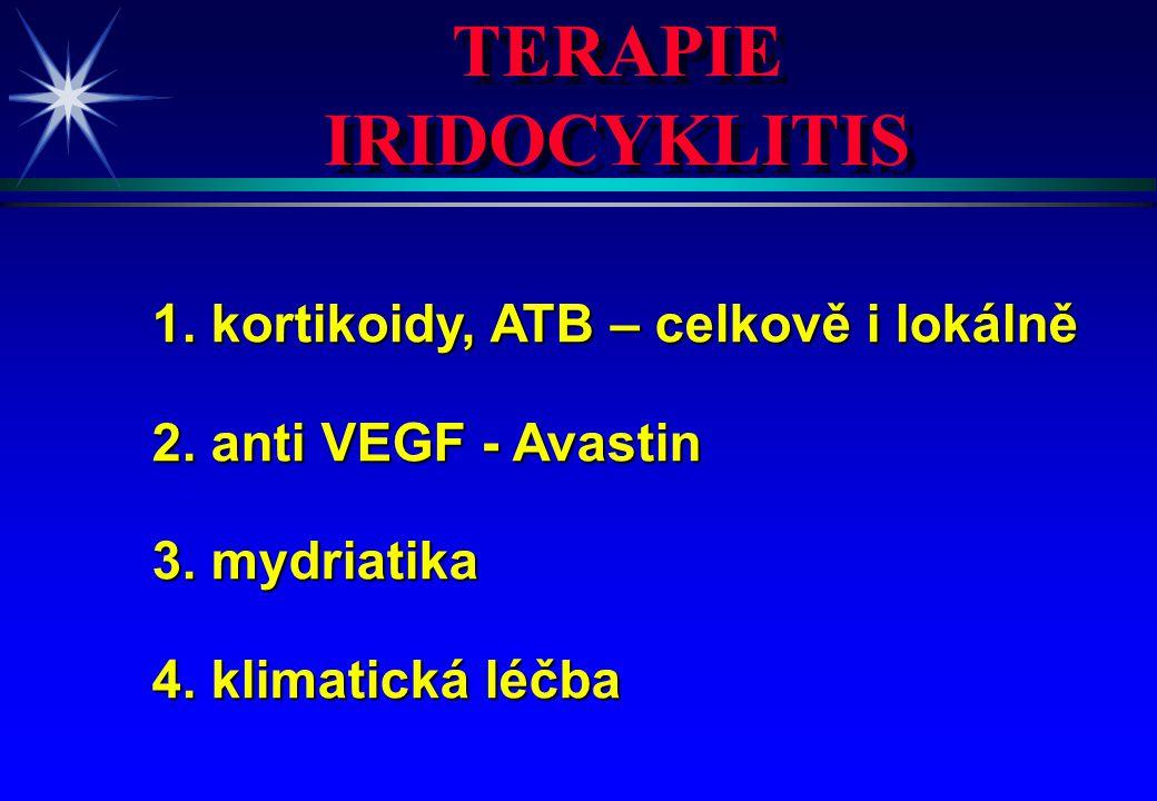 TERAPIE IRIDOCYKLITIS