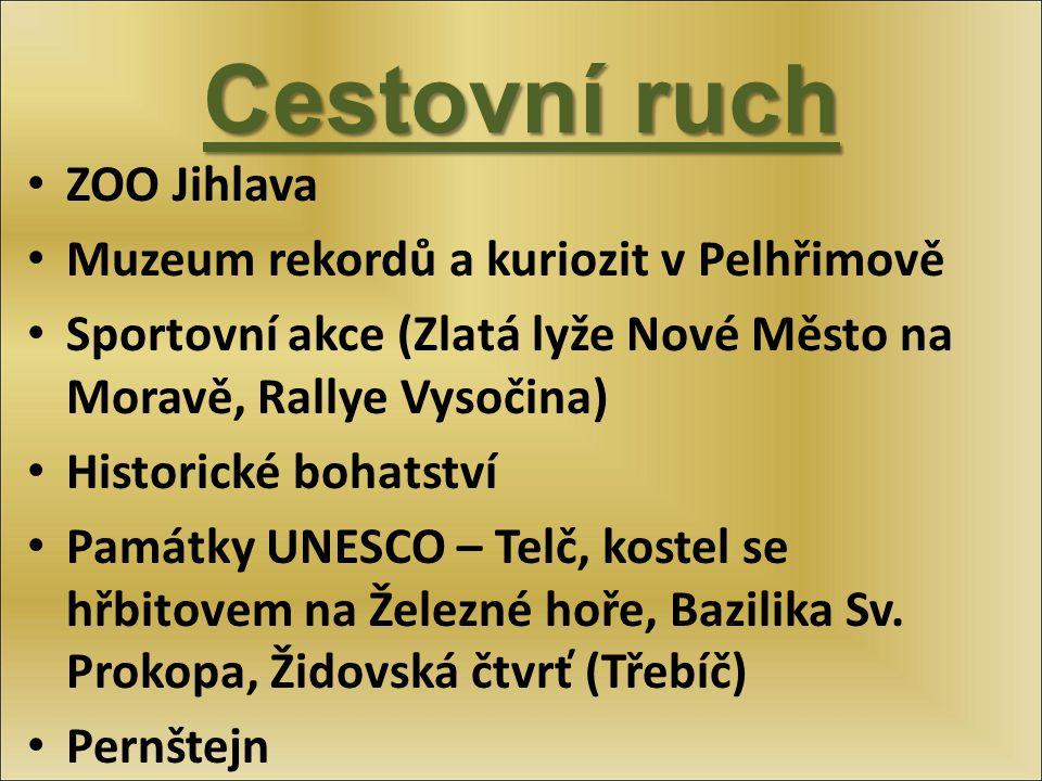 Cestovní ruch ZOO Jihlava Muzeum rekordů a kuriozit v Pelhřimově