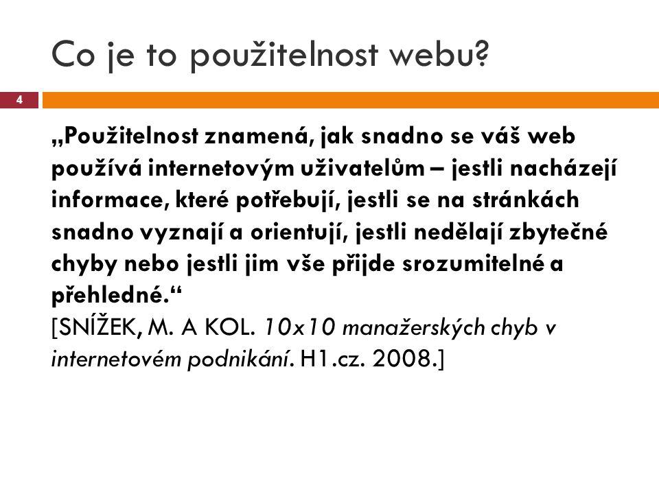 Co je to použitelnost webu